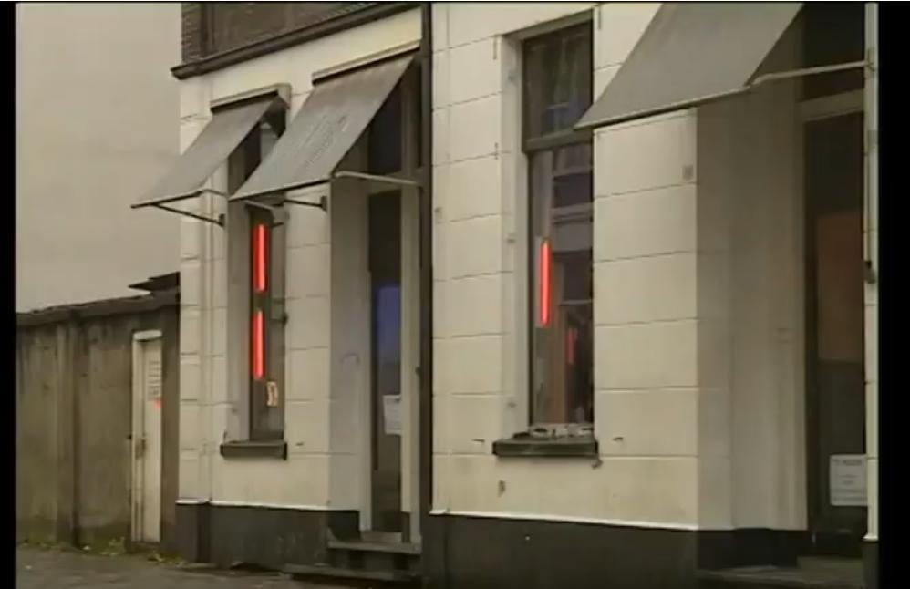 Het Spijkerkwartier, prostitutieparadijs van Arnhem.