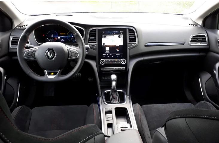 Nieuwe Renault Megane hybride interieur