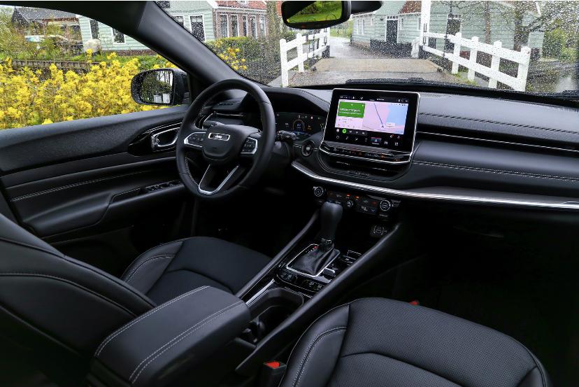 Interieur nieuwe Jeep Compass